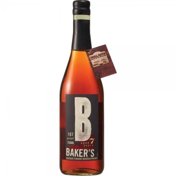 Baker's Bourbon 7 years  53.5% vol 70 cl