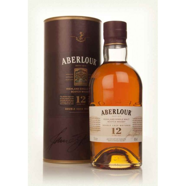 Aberlour 12 years 40% vol 70 cl