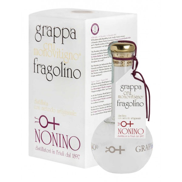 Grappa Monovitigno Fragolino Cru Nonino 45% vol 50 cl