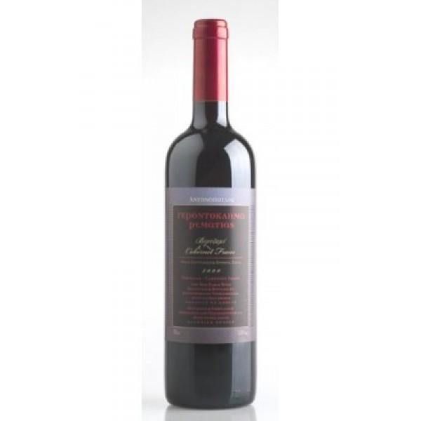 Antonopoulos Est. Gerontoklima Vertzami-Cabernet Franc Red 13.5% vol 75 cl