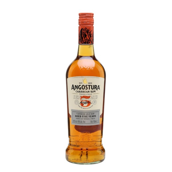 Angostura Rum 5 years old 40% vol 70 cl