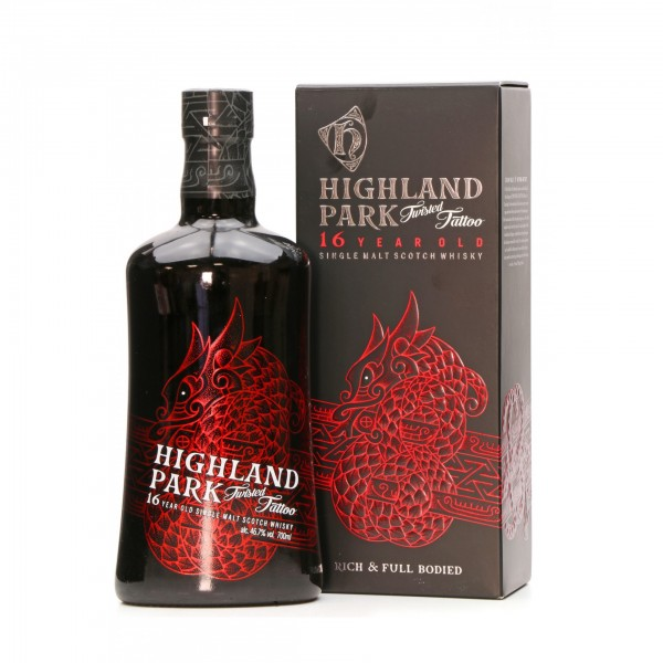 Highland Park Twisted Tattoo 16 Year Old Single Malt Whisky